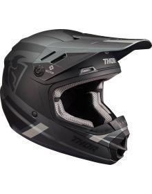 Thor 2022 Sector Split MIPS Youth Helmet Charcoal/Black