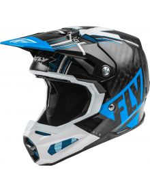 Fly Racing 2020 Formula Carbon Youth Helmet Vector Blue/White/Black