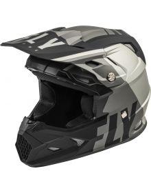 Fly Racing 2020 Toxin MIPS Youth Helmet Transfer Matte Grey/Black