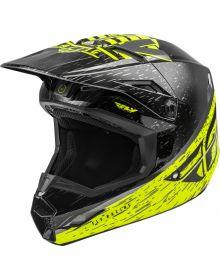 Fly Racing 2020 Kinetic K120 Youth Helmet Hi-Vis/Grey/Black