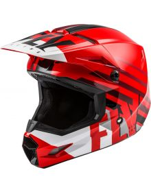 Fly Racing 2020 Kinetic Thrive Youth Helmet Red/White/Black