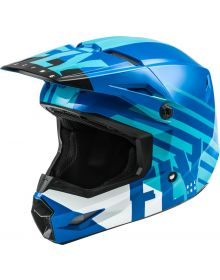 Fly Racing 2020 Kinetic Thrive Youth Helmet Blue/White