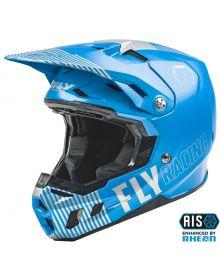 Fly Racing 2021 Formula Youth Helmet Primary Blue/Grey