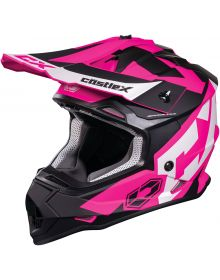 Castle X CX Mode MX Youth Helmet Pink Glo