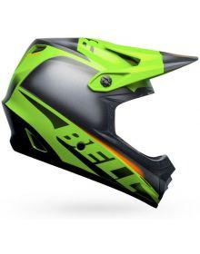 Bell Moto 9 Mips Youth Helmet Glory Matte Green/Black/Infrared