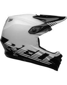 Bell Moto-9 MIPS Louver Youth Helmet Black/White