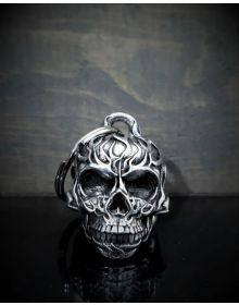 Guardian Bell 3D Flame Skull
