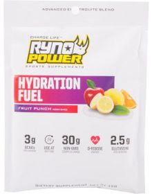 Ryno Power Hydration Fuel Pack Sport Supplements 1 Serving