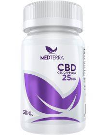 Medterra Medoil CBD Gel Capsules 25MG