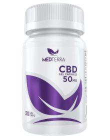 Medterra Medoil CBD Gel Capsules 50MG