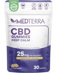Medterra CBD Keep Calm Tropical Punch Gummy 30 Count