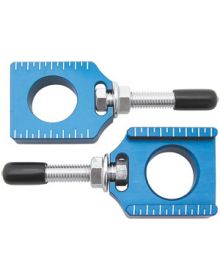 Bolt Chain Adjuster Block YZF 02-08 / YZ 02-19 Blue