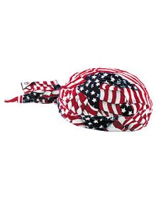 Zanhead Flag Wave Head Wrap