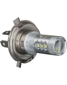 Show Chrome LED Headlight Conversion H4 GL1500 88-97