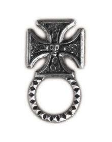 KMA Sunglasses Holder Pin Iron Cross