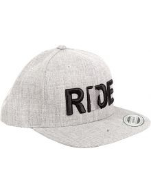 Ride Minnesota Snapback Hat Grey