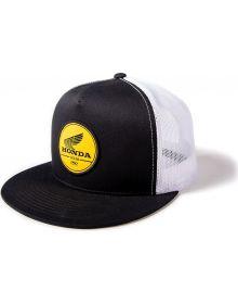 Factory Effex Honda Gold Label Snapback Cap Black/White