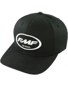 FMF Factory Classic Don Flex Fit Hat Black/White