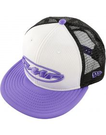 FMF Pit Party Snapback Womens Hat White/Lavender