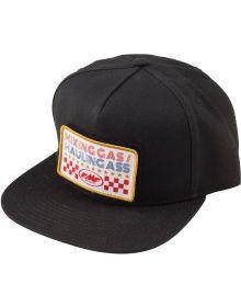 FMF Patch Snapback Hat Black