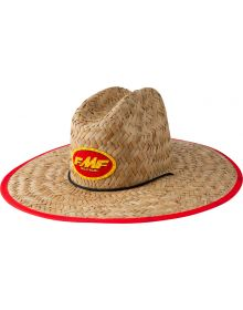 FMF Checkered Past Straw Hat