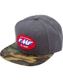 FMF Greasy Snapback Cap Black Heather