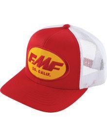 FMF Origins 2021 Snapback Cap Red