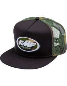 FMF Streak Snapback Cap Black