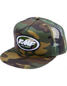 FMF Streak Snapback Cap Camo