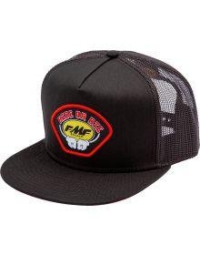 FMF Ride or Die Snapback Cap Black