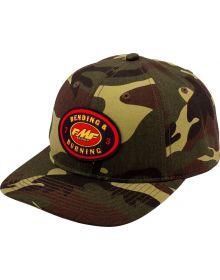 FMF Burning Snapback Cap Camo