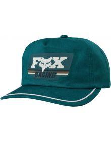Fox Racing Retro Fox Womens Snap Back Hat Jade