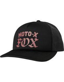 Fox Racing Moto X Womens Snap Back Hat Black