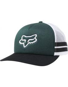 Fox Racing Head Trik Womens Trucker Hat Emerald