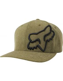 Fox Racing Clouded Flexfit Hat Olive Green