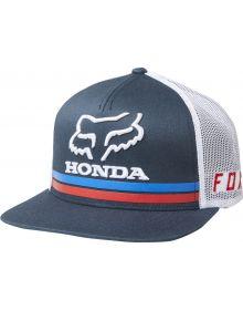 Fox Racing Honda Snapback Hat Navy