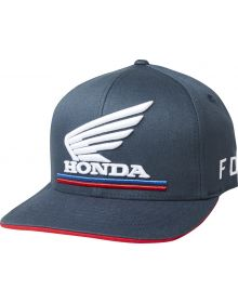Fox Racing Honda Flexfit Hat Navy