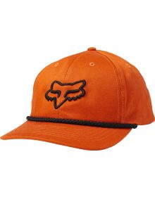 Fox Racing Sceme Dad Womens Hat Atomic Orange