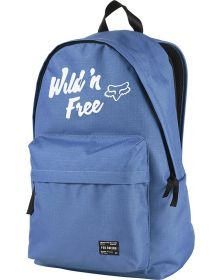 Fox Racing Pit Stop Womens Backpack Blue
