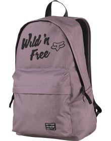 Fox Racing Pit Stop Womens Backpack Purple