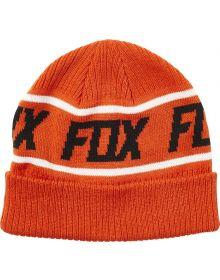 Fox Racing Wild And Free Womens Beanie Atomic Orange
