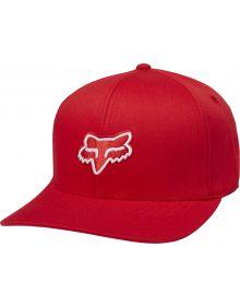 Fox Racing Legacy Flexfit Hat Dark Red