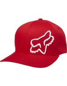 Fox Racing Flex 45 Flexfit Hat Dark Red