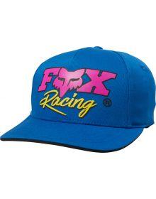 Fox Racing Castr Youth Hat Royal Blue