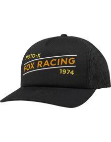 Fox Racing Banner Trucker Womens Hat Black