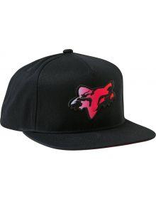 Fox Racing Pyre Snapback Cap Black
