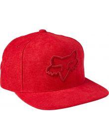 Fox Racing Instill 2.0 Snapback Cap Flame Red