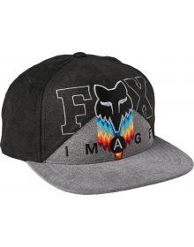 Fox Racing Relm Snapback Cap Black