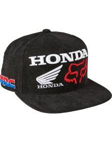 Fox Racing Honda HRC Snapback Cap Black