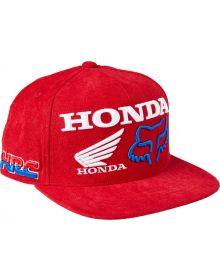 Fox Racing Honda HRC Snapback Cap Red